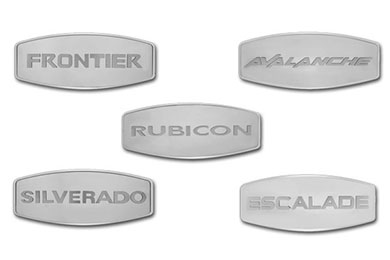 Jeep Cherokee Licensed Logo Hitch Covers by Pilot
