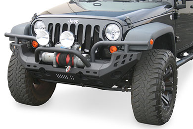 Aries Replacement Front Jeep Bumpers