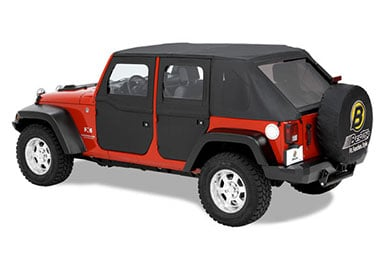 bestop 2 piece jeep doors
