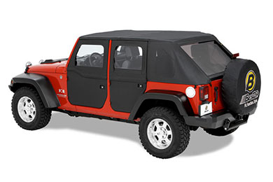 Bestop 2-Piece Jeep Doors