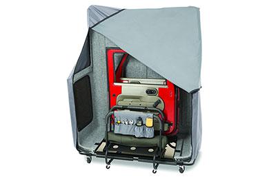 bestop hoss jeep hardtop storage system