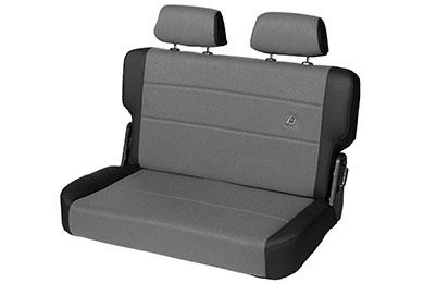 Bestop TrailMax II Fold & Tumble Rear Jeep Seats