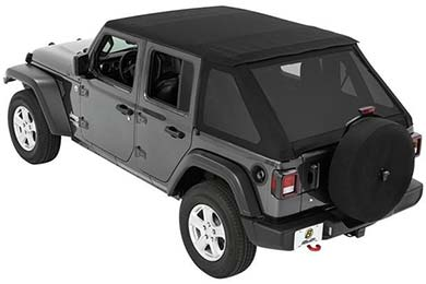 Jeep Wrangler Bestop TrekTop NX Jeep Soft Top