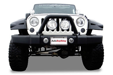 Jeep Wrangler MBRP Front Light Bar & Grille Guard