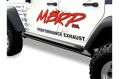 mbrp jeep rock rails