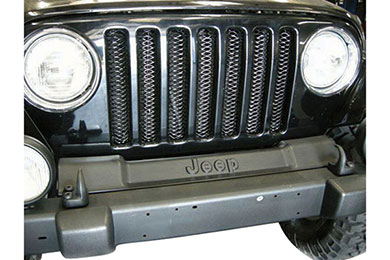 Jeep Wrangler Rampage 3D Mesh Grille