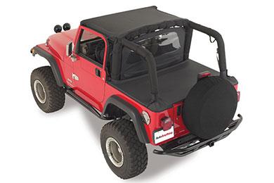 rampage jeep spare tire cover black diamond