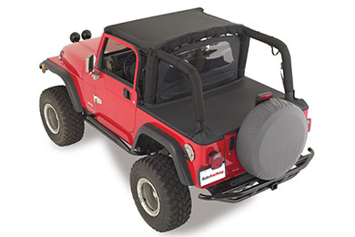 rampage jeep spare tire cover grey