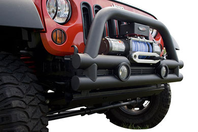 Rugged Ridge Stubby Tube Bumper