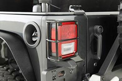 Jeep Wrangler Smittybilt Euro Tail Light Guards