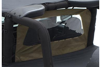 Jeep Wrangler Smittybilt Outback Jeep Wind Breaker