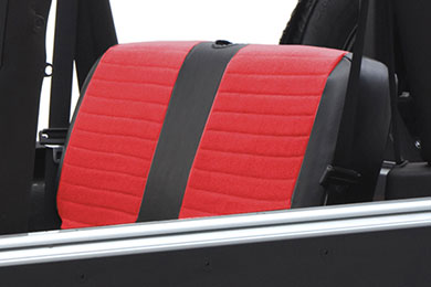 Smittybilt XRC Rear Canvas Seat Cover