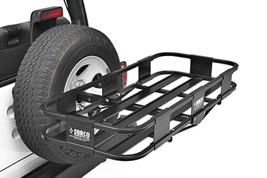 Jeep Patriot Surco Spare Tire Cargo Basket