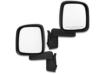 bestop replacement side view mirrors hero