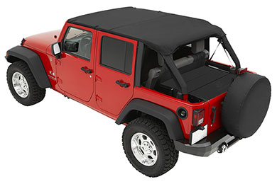 Jeep Wrangler Bestop Safari Style Bikini Tops
