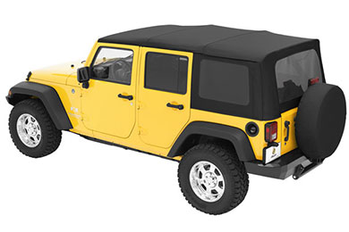 Jeep Wrangler Bestop Sailcloth Replace-A-Top Soft Jeep Top