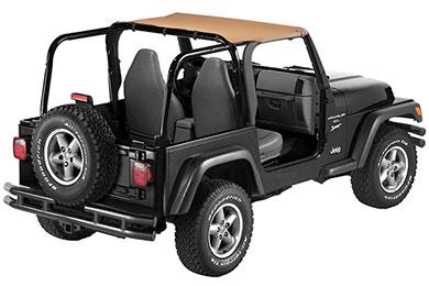 Jeep Wrangler Bestop Strapless Style Bikini Tops