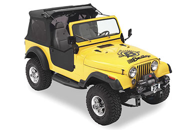 Jeep Wrangler Bestop Sunrider Jeep Soft Top