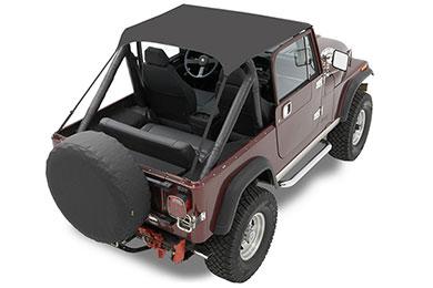 Jeep Wrangler Bestop Traditional Style Bikini Tops