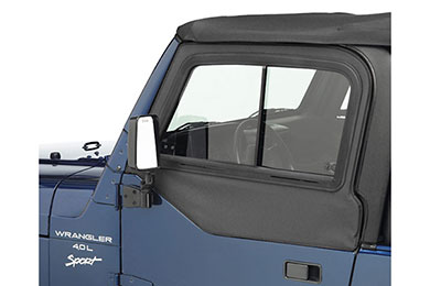 Bestop Jeep Upper Door Sliders