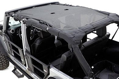 Jeep Wrangler Rampage Extended Mesh Shade Top