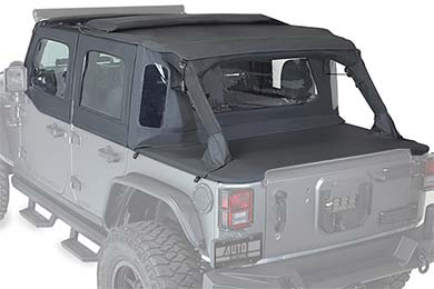 Jeep Wrangler Rampage TrailView Tonneau Top