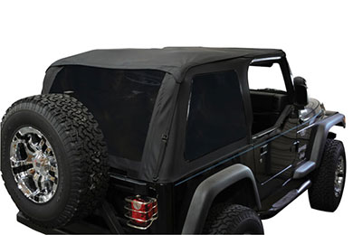 Rampage Frameless Trail Top Jeep Soft Top