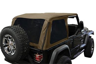 Jeep Wrangler Rampage Frameless Trail Top Jeep Soft Top