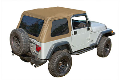 Rugged Ridge Bowless XHD Jeep Soft Top