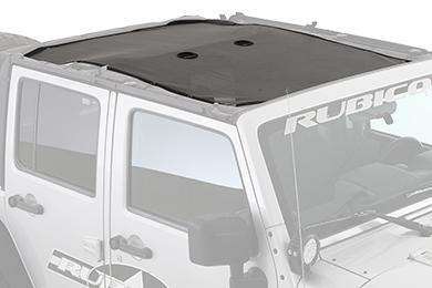 Jeep Wrangler Smittybilt Cloak Extended Mesh Top