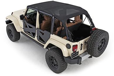 Jeep Wrangler Smittybilt Extended Mesh Top