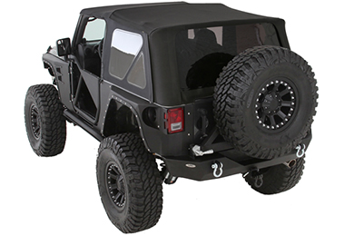 Jeep Wrangler Smittybilt Premium Replacement Canvas Soft Top