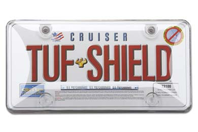 Toyota Tundra Cruiser Accessories Tuf-Shield License Plate Shield