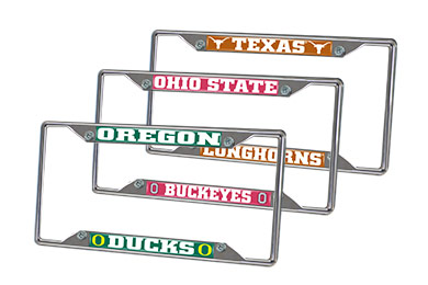 Hyundai Accent FANMATS NCAA License Plate Frames