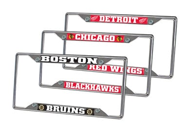 Hyundai Accent FANMATS NHL License Plate Frames