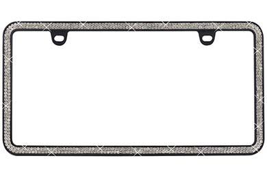 ProZ Premium 2 Row Rhinestone License Plate Frame