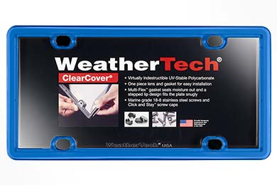Toyota Tundra WeatherTech ClearCover License Plate Frame
