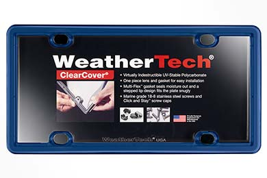 GMC Canyon WeatherTech ClearCover License Plate Frame