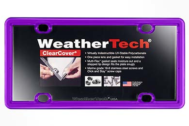 Honda Pilot WeatherTech ClearCover License Plate Frame