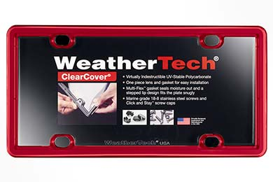 Ford F-250 WeatherTech ClearCover License Plate Frame