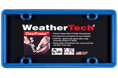 Ford Bronco WeatherTech ClearFrame License Plate Frame