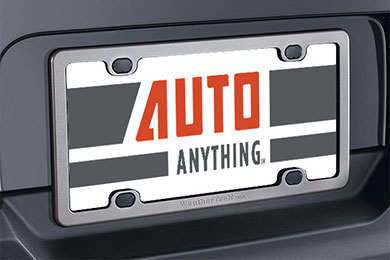 Ford Escape WeatherTech Billet License Plate Frame