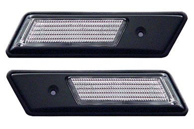 Honda Civic Anzo USA Clear Side Marker Lights