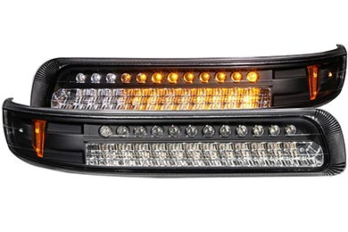 Chevy Tahoe Anzo USA Bumper Lights