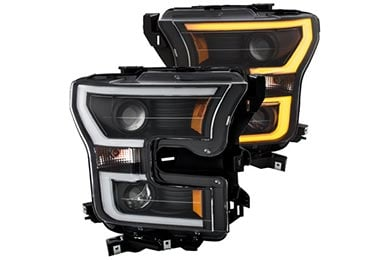 Honda Civic Anzo USA Headlights
