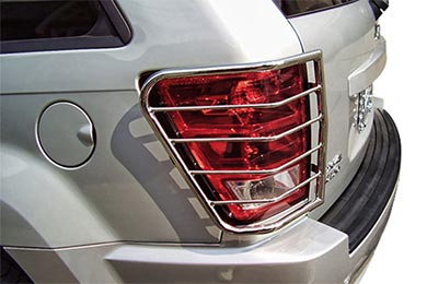 Ford F-350 Black Horse Off Road Tail Light Guards