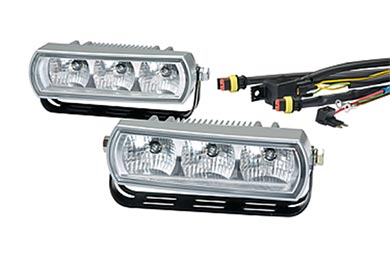 Chevy Prizm Hella 3 LED Daytime Running Light Kit