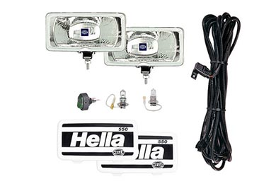 Toyota Yaris Hella 550 Light Kit