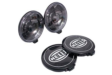 BMW X5 Hella 500 Black Magic Driving Light Kit