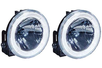 Dodge Challenger Hella Optilux 2500 Angel Eye Light Kit